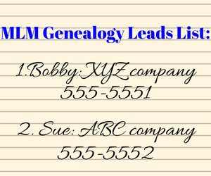 mlm-genealogy-list