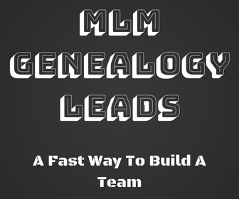 The Fastest And Easiest Way To Get MLM Genealogy Leads And Reports